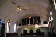 Studiobau: Warum nicht in der Kirche?
