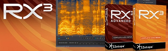 iZotope RX3: Sonderpreise im April!