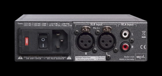 SPL Phonitor mini Rückansicht