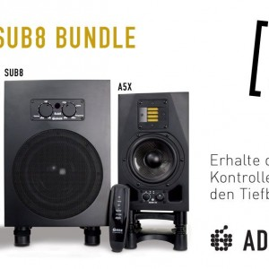 ADAM Audio A5X Sub8 Bundle