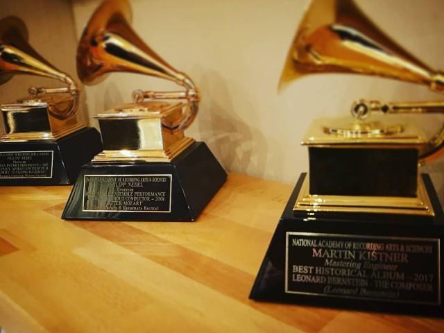 Grammy-Gewinner nutzen Merging-Entwicklungen