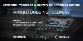 Effiziente Produktion & Delivery für Streaming Dienste