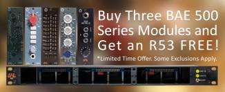 BAE Special Offer: Drei Module kaufen, R53-Rack geschenkt bekommen