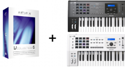 Arturia KeyLab 49 MKII Aktion: Gratis V-Collection 6 bei Registrierung