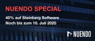20 Jahre Nuendo: 40 % auf Software